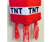 TNT Pinata Red