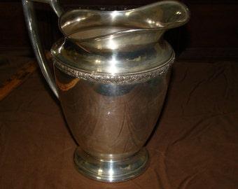 Wm Rogers Primrose 7817 silverplate pitcher