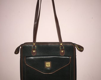 Vintage Leather Women's Briefcase