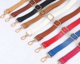 Leather Purse Strap Adjustable Crossbody Shoulder Replacement Handbag Bag Wallet Handle DIY Chain,Metal Handle Gold Plated Link Clutch Chain