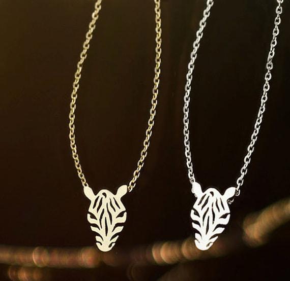 zebra necklace zebra necklace by starhillboutique