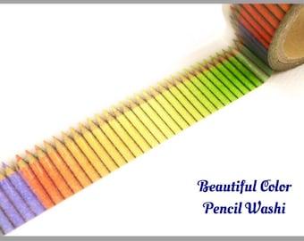 Color Pencil, Washi Tape