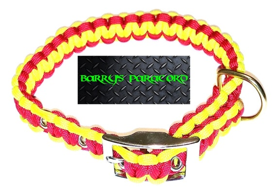how to make a dog collar out of climbing rope