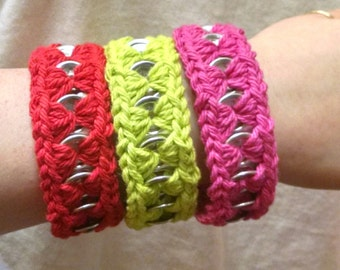Can Tab Bracelets(Solid Color)