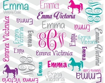 Personalize Horse Blanket Baby Name Blanket Monogram Blanket Name Blanket Name Pattern Blanket Chevron Blanket Teen Blanket Tween Blanket
