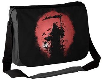 Lantern Reaper - Gothic Messenger Bag - Dark but Beautiful Grim Reaper Bag - Ideal Gothic Gift