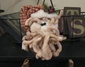 Santa Nodder - Santa Decoration - Santa on Rusty Spring