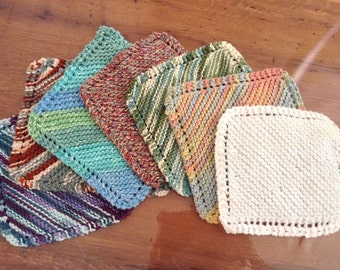 100% Cotton Knitted Dish Cloth
