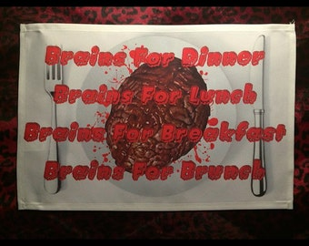 Horror Kitchen Table Placemat!