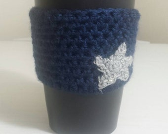 The ~MIDNIGHT~ Cozy, Cup Cozy, Tea Cozy, Coffee Cozy, Coffee Sleeve (SET OF 3)