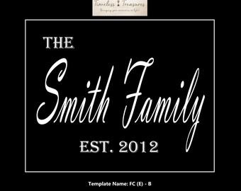 Family Crest (E)