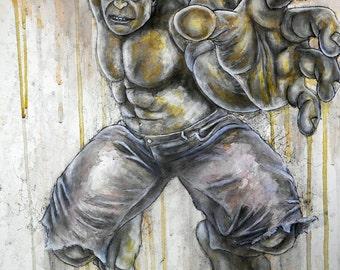 The Incredible Hulk Artwork Print