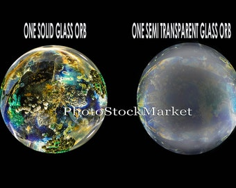 Crystal Ball PNG - Photoshop overlay -  Png Cutouts - Glass Orb - Fantasy Compostite - Christmas Globe