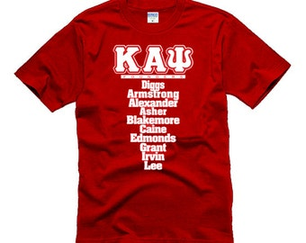 Kappa Alpha Psi Fraternity Greek Tshirt