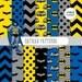 Buy 2 Get 1 Free! Digital Paper Batman Patterns, Blue, Black, Gray and Yellow, chevron, polka dots, bat  for Label, seamless + clipart free