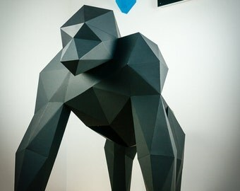 Papertrophy XXL Papercraft Gorilla