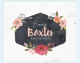 Premade Logo / Watercolor Logo / Photography Logo / Wedding Logo / Business Logo / Wedding Photography Logo / Photography Watermark