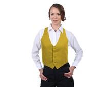 Women's Antique Gold Fashion Vest