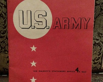 Meet the US Army.  1943 By Louis Macneice. World War 2.