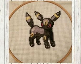 Pokemon Cross Stitch Pattern Umbreon