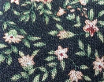 Vintage Floral Wrap Around Skirt