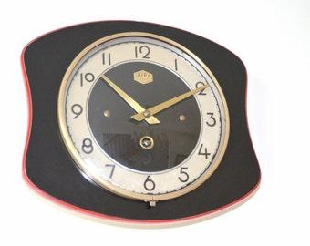 """""""Jura"""" vintage melamine, key, pendulum clock"""