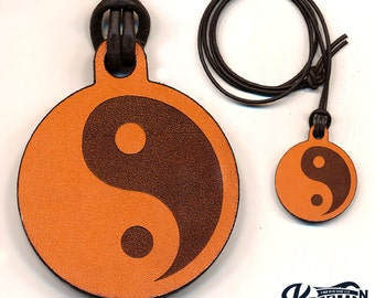 Laser Cut | Yin Yang Necklace / Keychain
