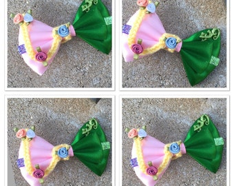 Pascal and rapunzel bow