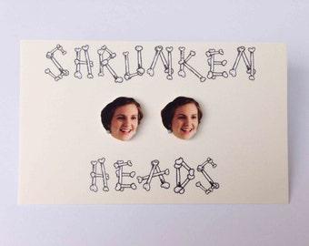 Hannah of Girls (Lena Dunham) earrings