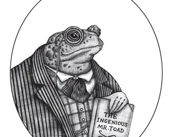 Mr Toad / Wind in the Willows Print