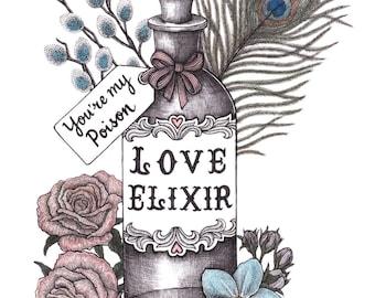 Love Elixir Print