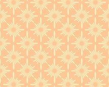 Reusable Wall Stencil Modern Floral Geometric Allover Pattern.  Available In 10 or 14 Mil Mylar at no extra charge.  SKU: S0046