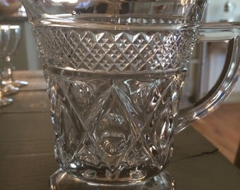 Vintage Syrup / Juice Pitcher