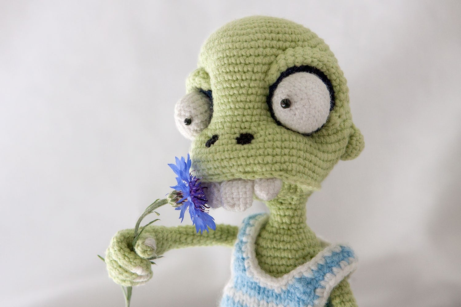 Crochet Zombie Patterns : PATTERN Zombie boy crochet pattern amigurumi pattern pdf