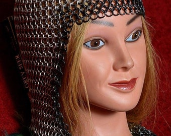 Chainmail Coif (head piece)