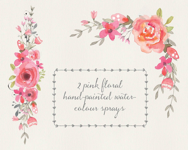 Flower corners | Etsy