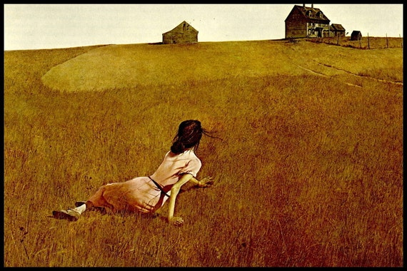 Andrew Wyeth Print Christina S World