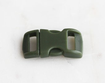 S4-106-KH] Khaki / 29 x 14mm  / Buckle Clasp / 2 piece(s)
