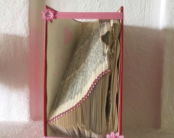 "Book folding pattern ""Bride and Groom"""