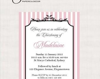 Elegance Collection Printable Invitation