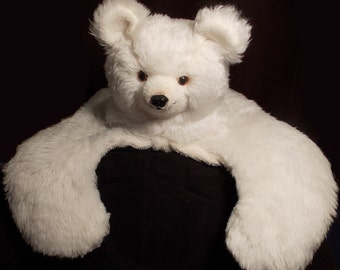 Dakin Pillow Pet 1974 Large White Polar Bear Giant Plush Stuffed Animal