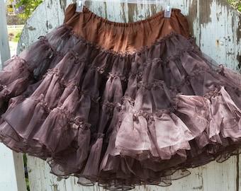Vintage RuTHad Brown Petticoat