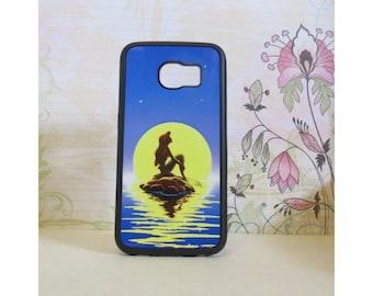 Disney Little Mermaid - Rubber Samsung Galaxy S3 S4 S5 S6 Case