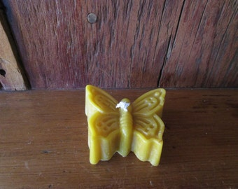 Beeswax Butterfly Candle