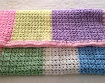 Popular Items For Multi Color Blanket On Etsy