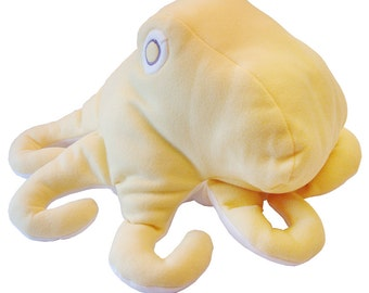 SALE Fleece Baby Octopus Stuffed Animal