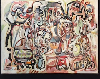 Original oil painting - contemporary art