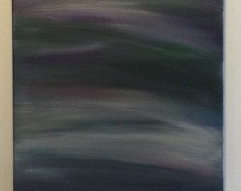 """Oil Painting - """"Dark Horizons"""""""