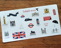 65 - London, Britain Planner Stickers | Perfect for Your Erin Condren Life Planner