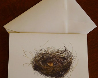 Greeting card - small nest